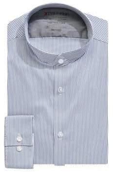 Calvin Klein Slim-Fit Striped Dress Shirt
