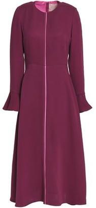 Roksanda Fluted Silk Midi Dress