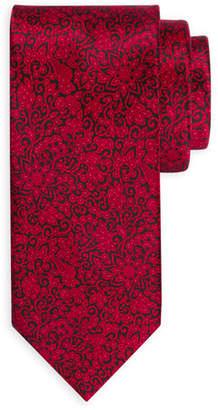 Stefano Ricci Small Paisley Silk Tie
