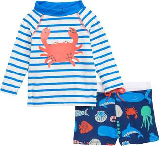 Boden Mini 2-Piece Rashguard Swim Set