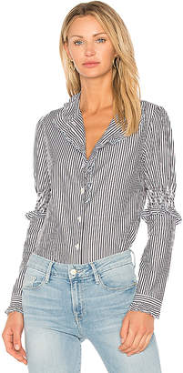 See by Chloe Striped Button Down Tunic