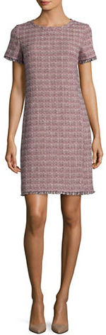 Max Mara Weekend Max Mara Etruria Roundneck Tweed Dress