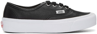 Vans Black OG Authentic LX VL Sneakers $85 thestylecure.com