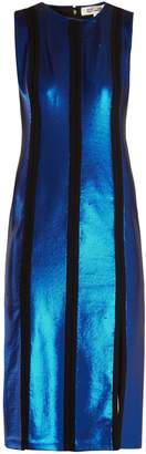 Diane von Furstenberg Sequin-embellished midi dress