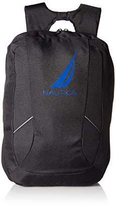 Nautica Men's J-Class Water Resistant Nylon Laptop Backpack