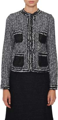 Giambattista Valli Short Tweed Jacket