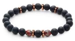 Beaded Onyx Bracelet