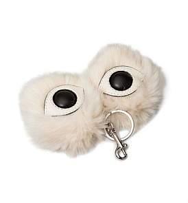Stella McCartney Eyes Key Ring Fur