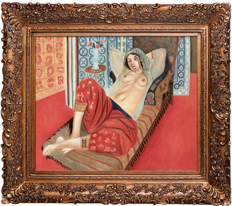 Matisse Overstock Art Odalisque With Red Pants By Henri Oil Reproduction