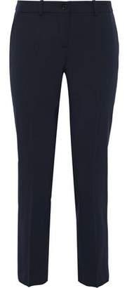Michael Kors Cropped Stretch-Wool Twill Slim-Leg Pants
