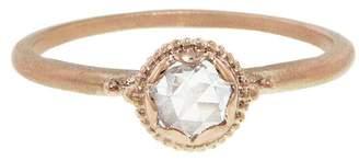 Megan Thorne Scalloped Bezel Rose Cut Diamond Cherie Ring