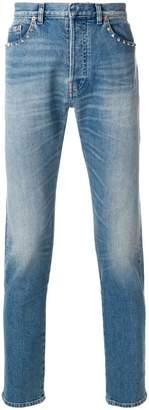 Valentino straight-leg rockstud jeans