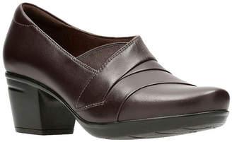 Clarks Emslie Warbler Womens Slip-On Shoes Slip-on Closed Toe