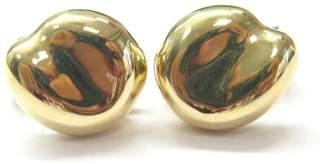 Tiffany & Co. Elsa Peretti 18K Yellow Gold Bean Huggie Earrings