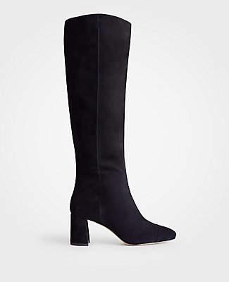 5e24d909c49 Ann Taylor Camden Extended Calf Heeled Boots