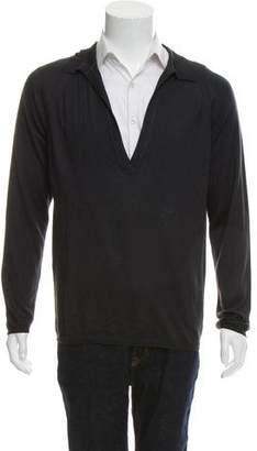 Trussardi Cashmere & Silk V-Neck Sweater