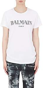 Balmain Men's Logo Cotton T-Shirt - White