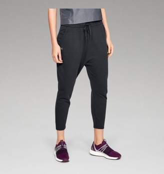 Under Armour UA Womens Favorite Terry Tapered Slouch Crop