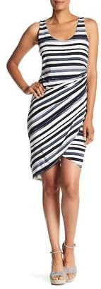 Tommy Bahama Aquarelle Stripe Sleeveless Midi Dress