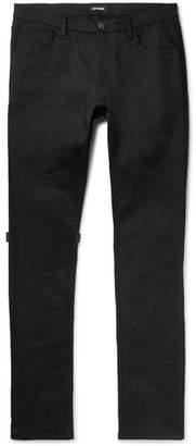 Raf Simons Appliqued Denim Jeans - Men - Black