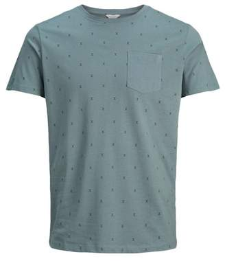 Jack and Jones Micro Crew Neck Pocket Tee
