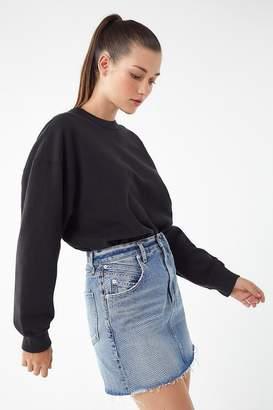 A Gold E AGOLDE Palmer High-Rise Mini Skirt – Temptation
