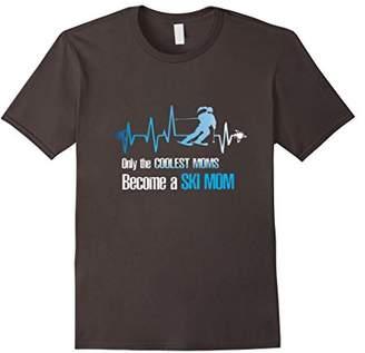Ski Mom Shirt- Skier Gift Ideas -Funny ski shirts womens tee