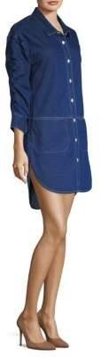 Burberry Denim Shirt Dress