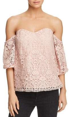 Bailey 44 Dream Come True Off-the-Shoulder Lace Top - 100% Exclusive