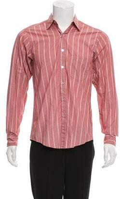 Steven Alan Striped Button-Up Shirt