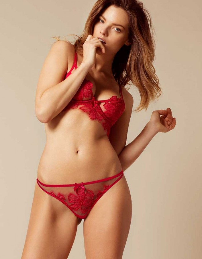Agent Provocateur Seraphina Thong Red