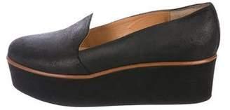 Maison Margiela Suede Platform Loafers