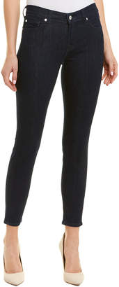 7 For All Mankind Seven 7 Gwenevere Dark Blue Ankle Cut