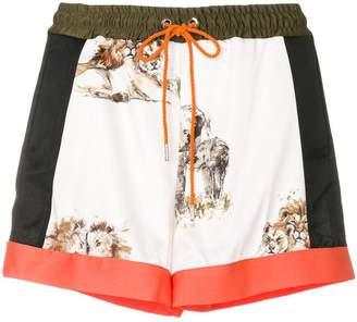 Pinko printed shorts