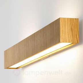 Lange LED-Wandleuchte Quadrat W