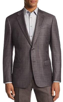 Emporio Armani G-Link Check-Print Tailored Fit Jacket