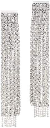 The Nicole - Sparkly Fringe Drop Earrings