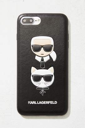 Urban Outfitters Karl Lagerfeld Karl + Choupette iPhone 8/7/6 Plus Case