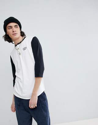 Vans Cajon T-Shirt In White