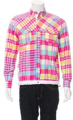 Sacai Plaid Flannel Shirt w/ Tags