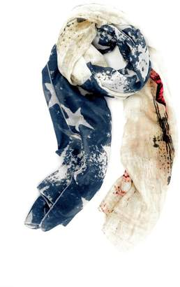 Moxy Boutique American Flag Scarf