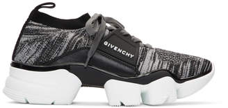 Givenchy Grey Jaw Sock Sneakers