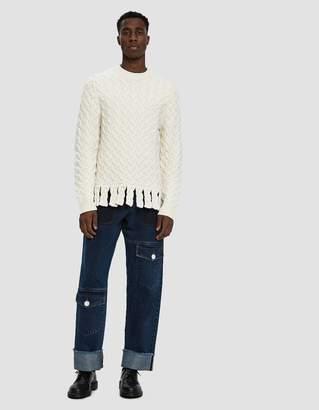 J.W.Anderson Multi Pocket Denim Trousers