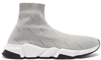 Balenciaga Speed Trainers - Mens - Grey Multi