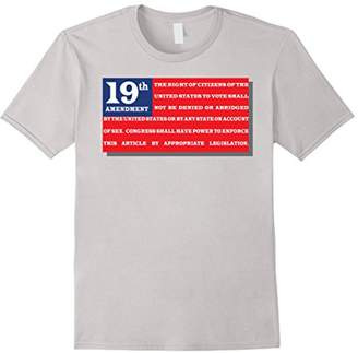 19th Amendment Women's right to vote tee: Suffrage t-shirt