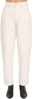 Magda Butrym High Waist Cotton Denim Jeans
