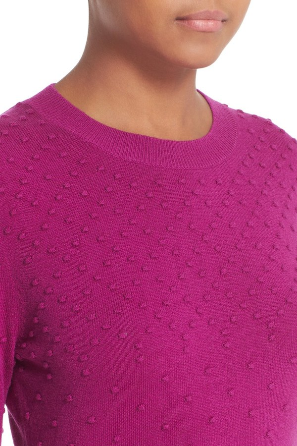 Ted Baker London Sabrina Bubble Stitch Crew Neck Sweater 7