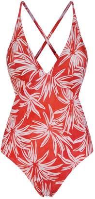 Vix Palm Cut-Out Swimsuit