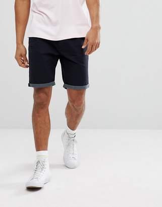 Brave Soul Spotty Turn Up Chino Shorts