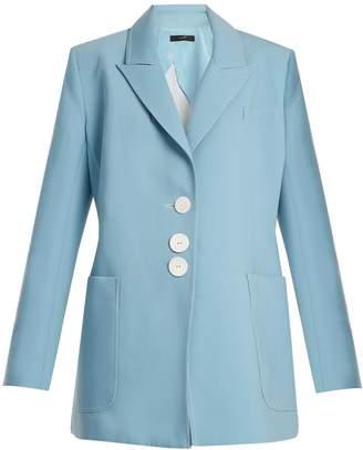 Ellery Blazing single-breasted oversized blazer